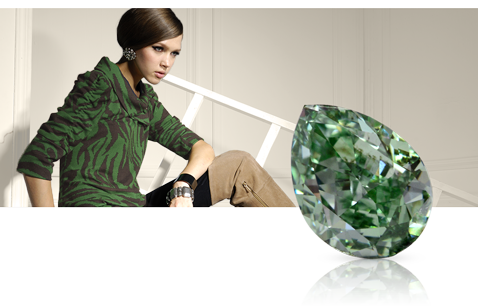 Natural Fancy Green Diamonds
